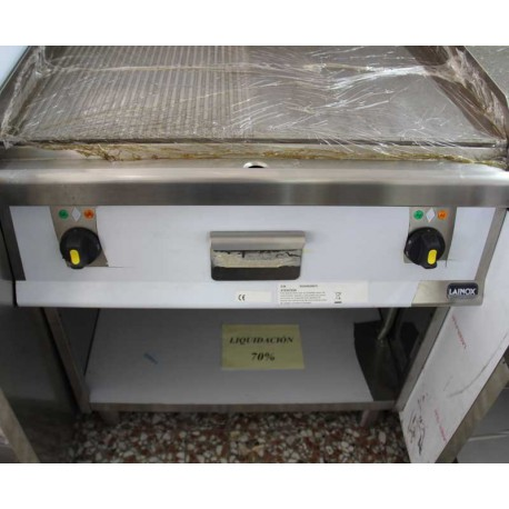 Fry top electrico liso