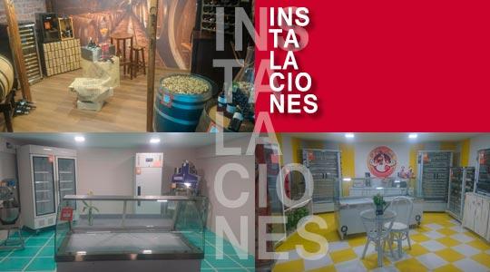 Instalaciones bares restaurantes caferias establecimientos de alimentación